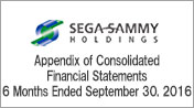 Appendix of Consolidated Financial Statements