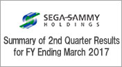 Summary of 2nd Quarter Results for FY Ending March 2017
