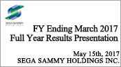 FY Ended March 2017 Full Year Results Presentation